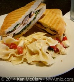 Chicken Pesto Sandwich at Pressroom in Bentonville