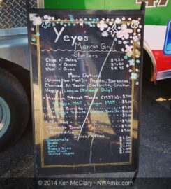 Yeyo's Mexican Grill in Bentonville
