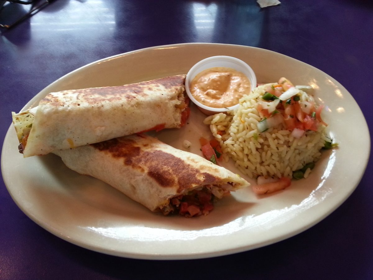 Fish Tacos at Fish City Grill in Rogers