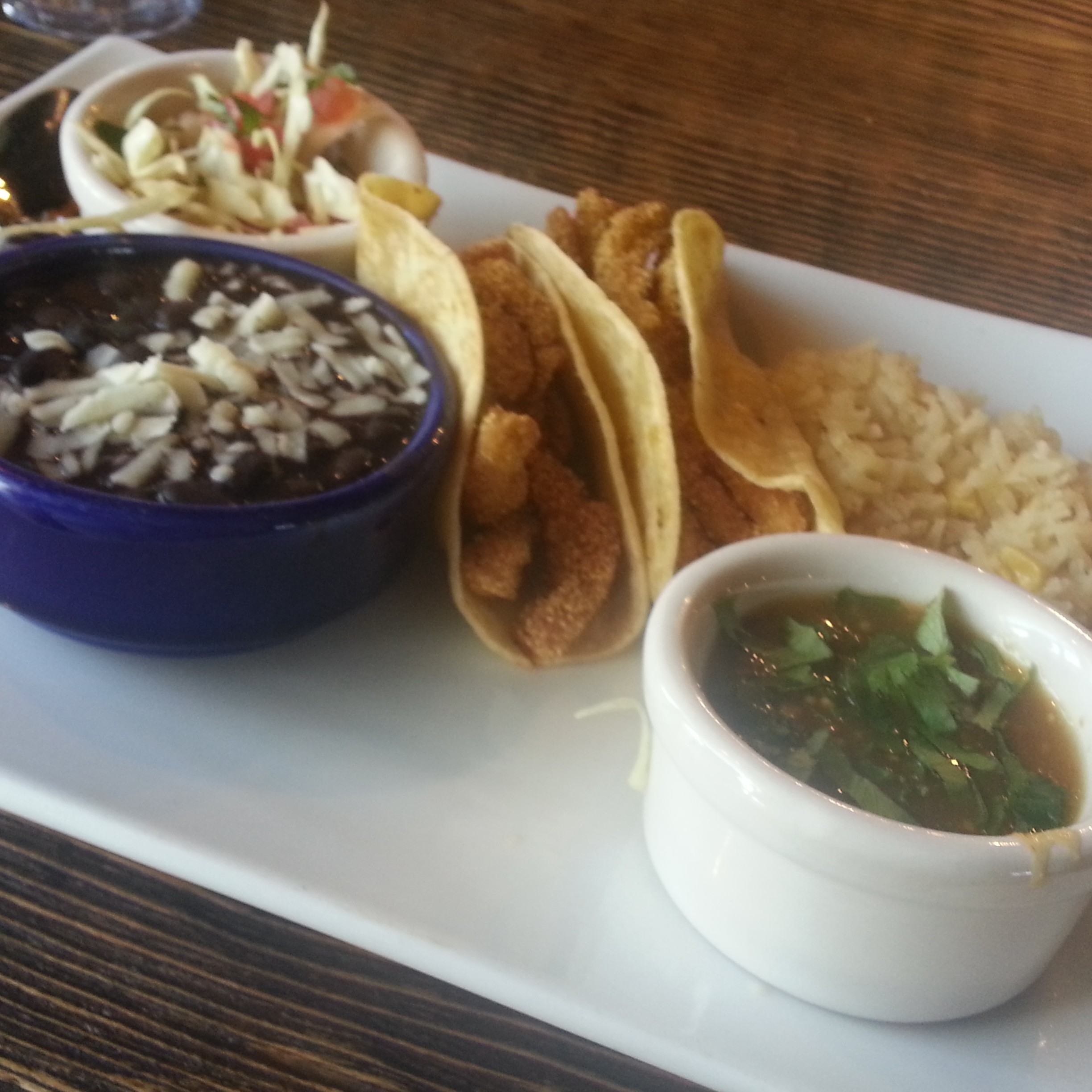 Fish Tacos At Azul Tequila Mexican Cuisine In Bentonville Nwa Food