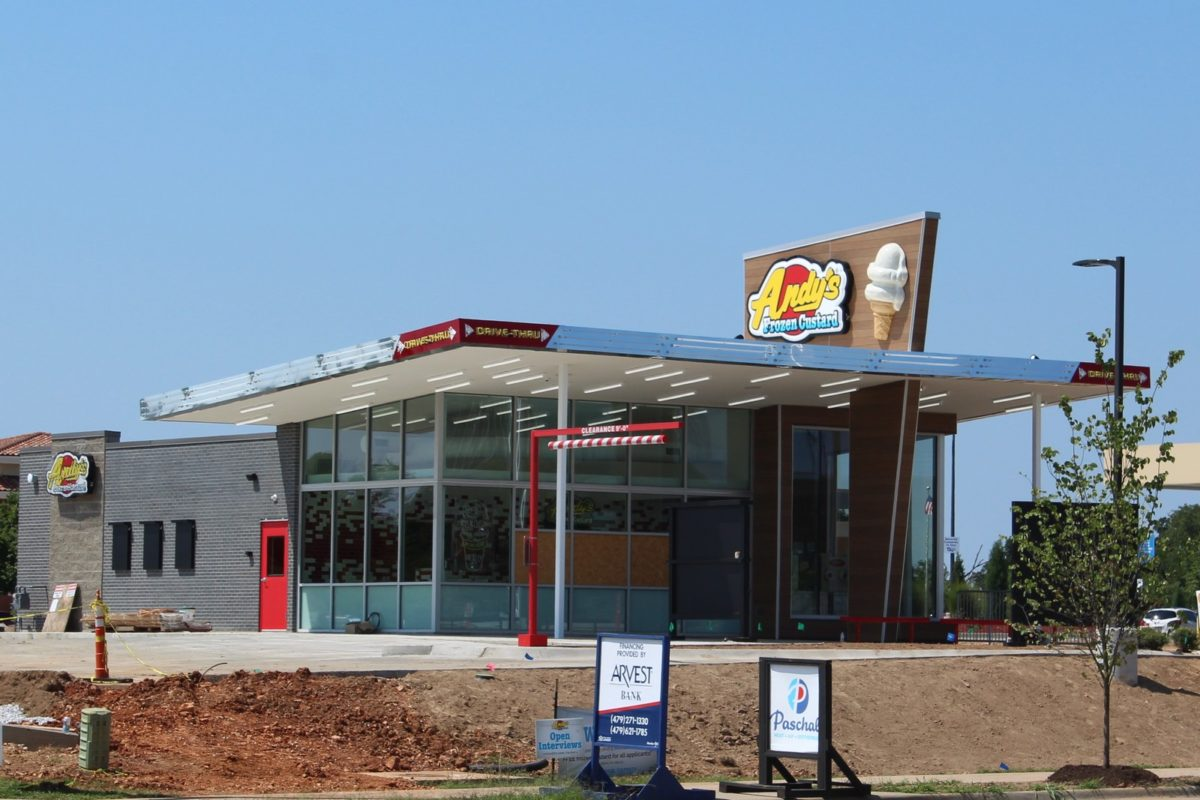 Andy's Frozen Custard on J.B. Hunt Dr in Rogers