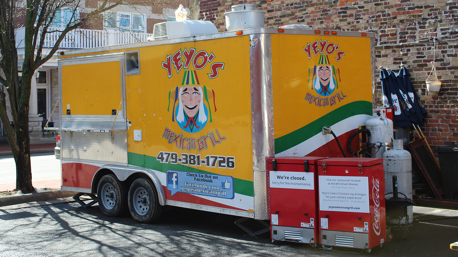 Yeyo's Mexican Grill Food Truck